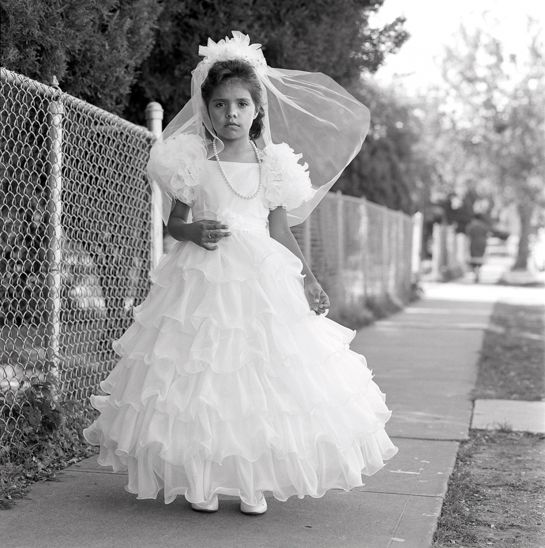 Laura Wilson, First Communion, Dallas, Texas May 22, 1988