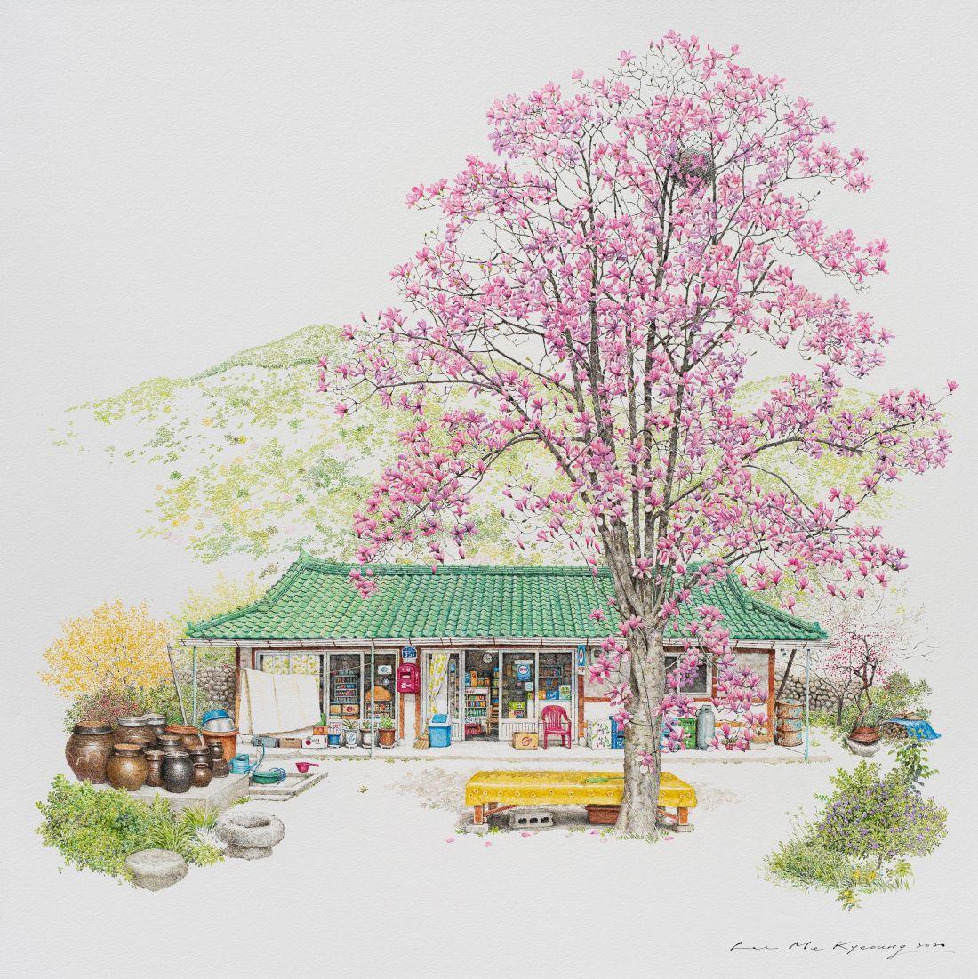 Spring at Toji, 2020 © Me Kyeoung Lee