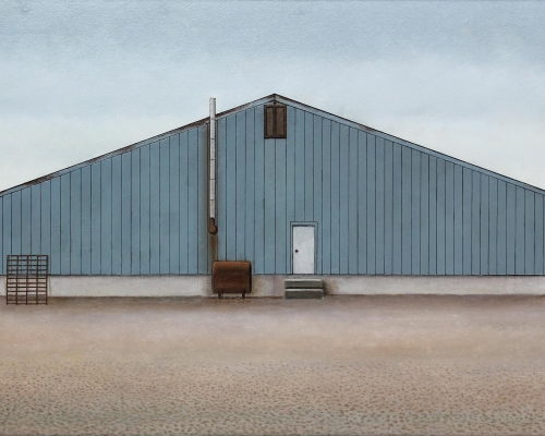 A Building at Buchans (Copper, Zinc, Lead; Silver and Gold), 2015 | Christopher Pratt