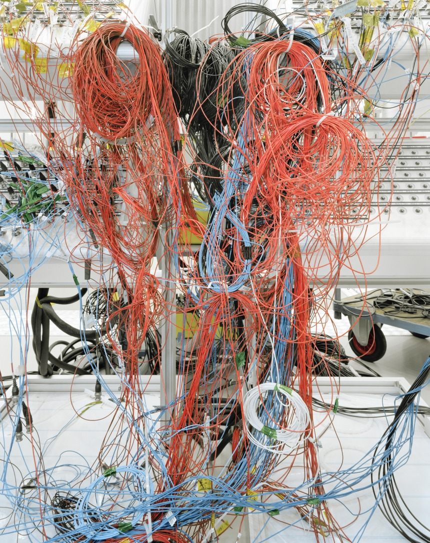 Cabling used during testing of ESA's BepiColombo spacecraft (ESA-ESTEC, Noordwijk (The Netherlands) @ Edgar Martins