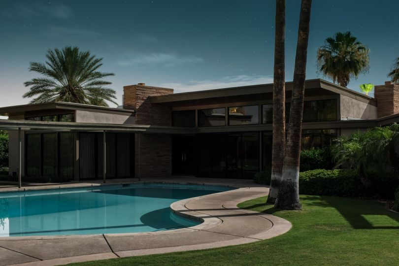 Frank Sinatra Twin Palms Estate E. Stewart Williams, 1947