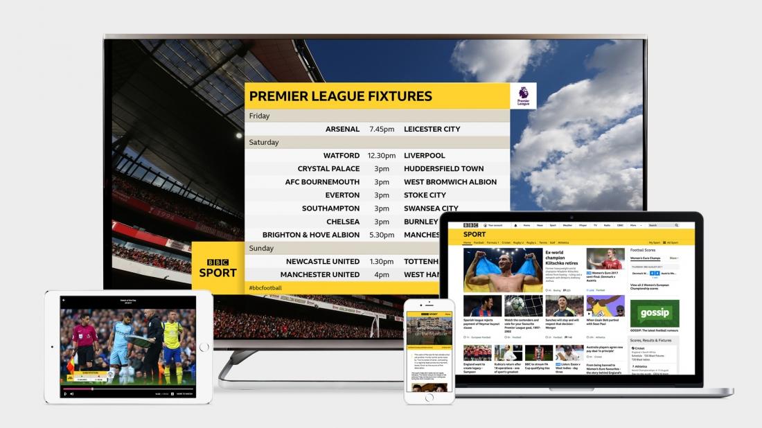 Studio Output creates new branding for BBC Sport to build