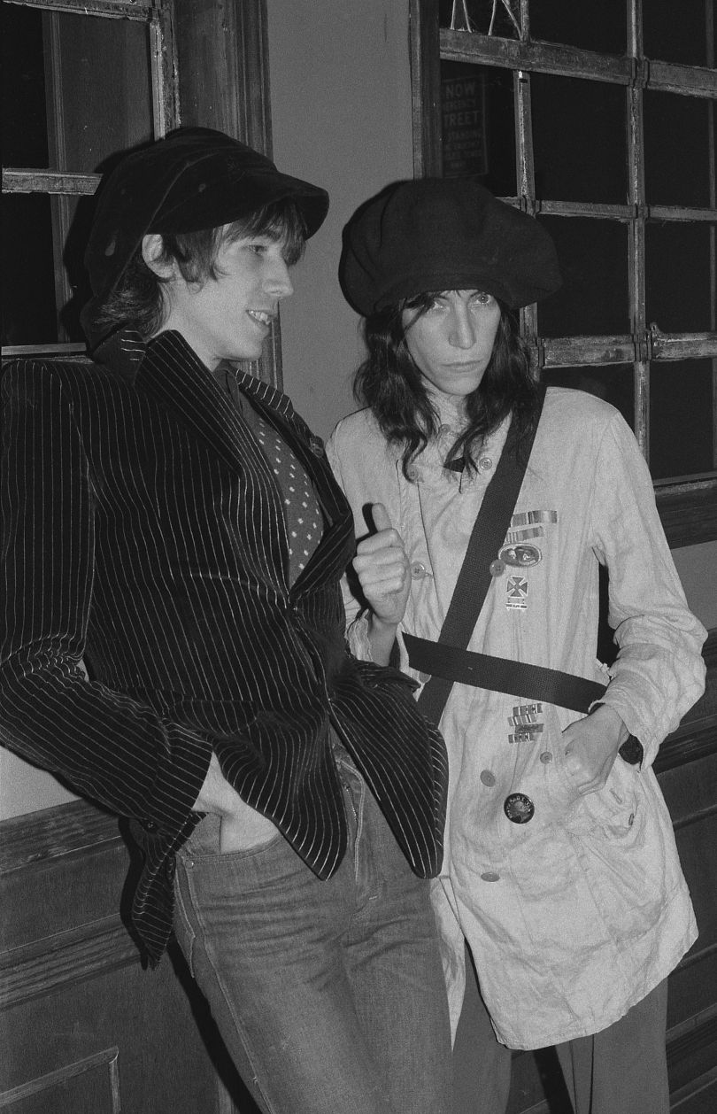 Patti Smith and Ivan Karl © Gary Green, from the book When Midnight Comes Around published by STANLEY/BARKER