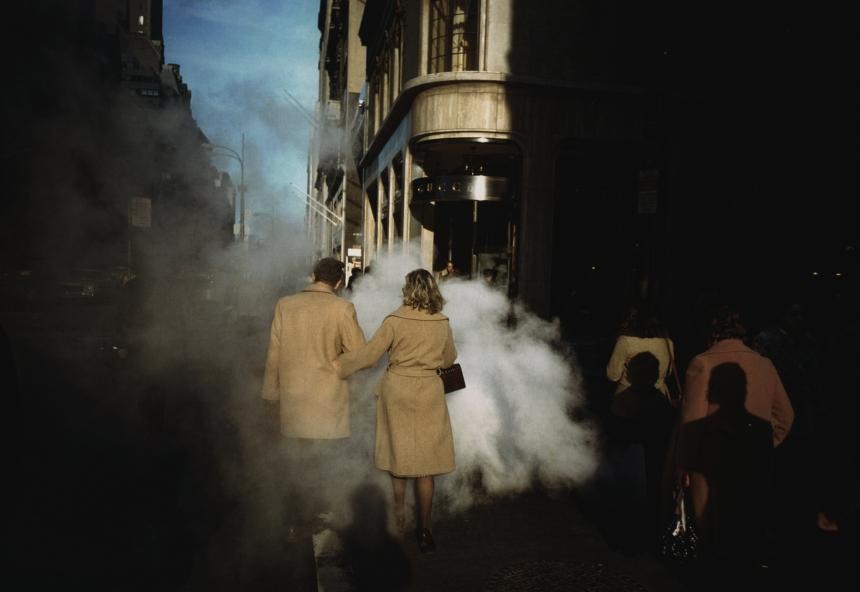 Camel coats, New York City, 1975   © Joel Meyerowitz