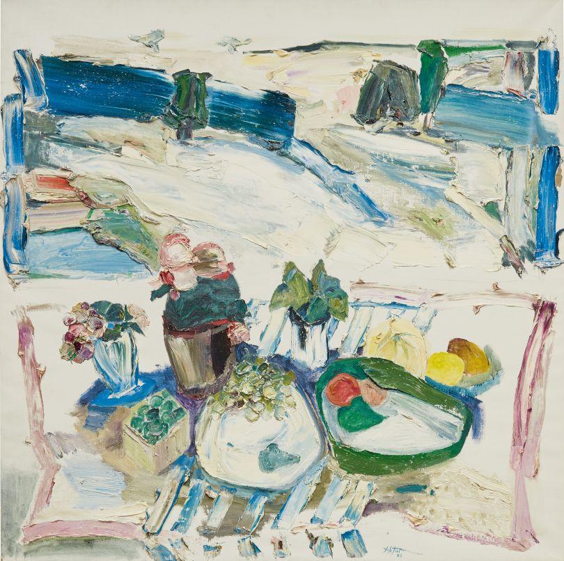 Manoucher Yektai, Summer Still Life 3, 1982