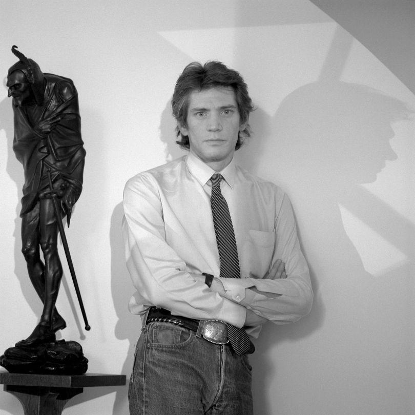 Robert Mapplethorpe, N.Y.C., 1987 © Jeannette Montgomery Barron