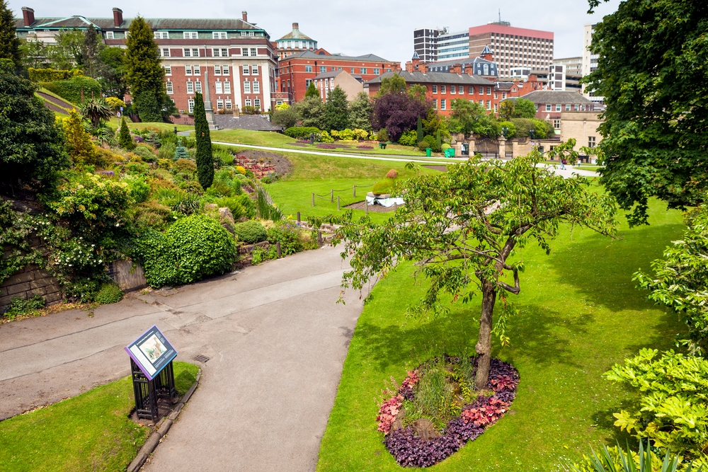 Beautiful parks in Nottingham. Image Credit: [Shutterstock.com](http://www.shutterstock.com)