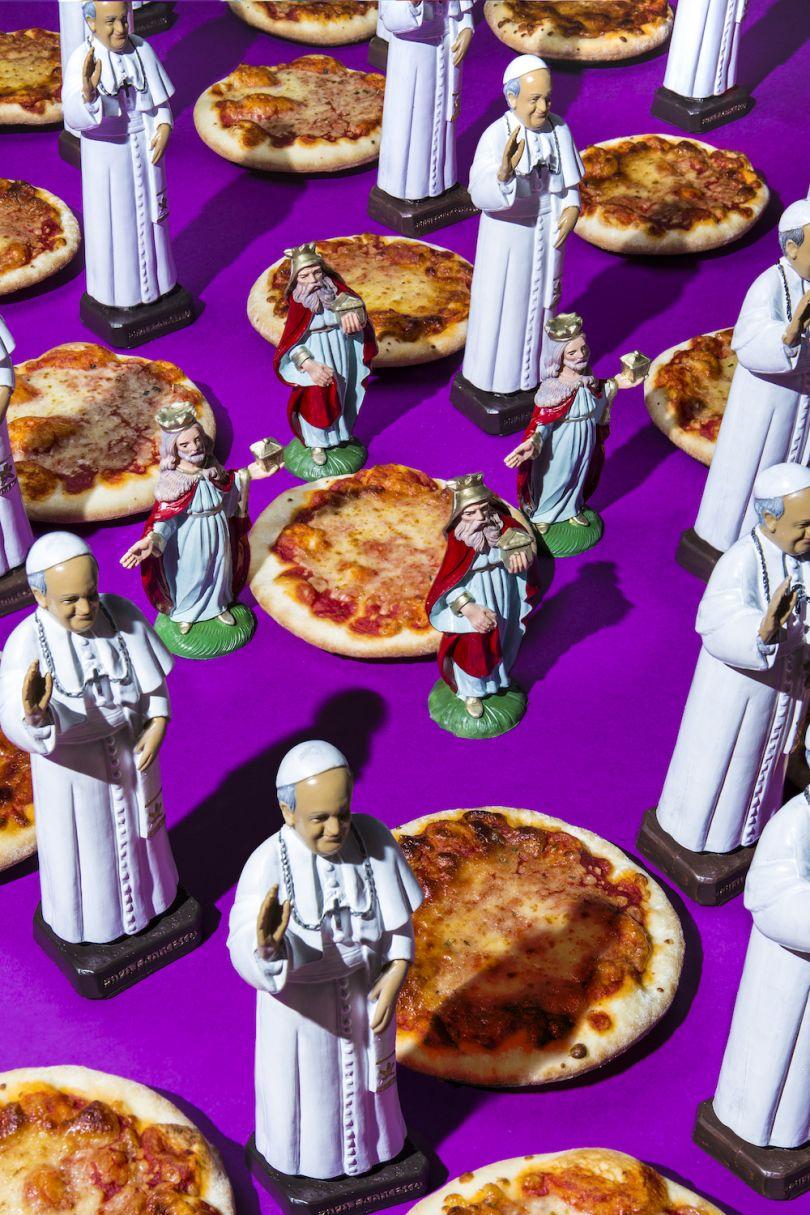 Pope Francis / Pizza and Holy Spirit - © Dan Bannino