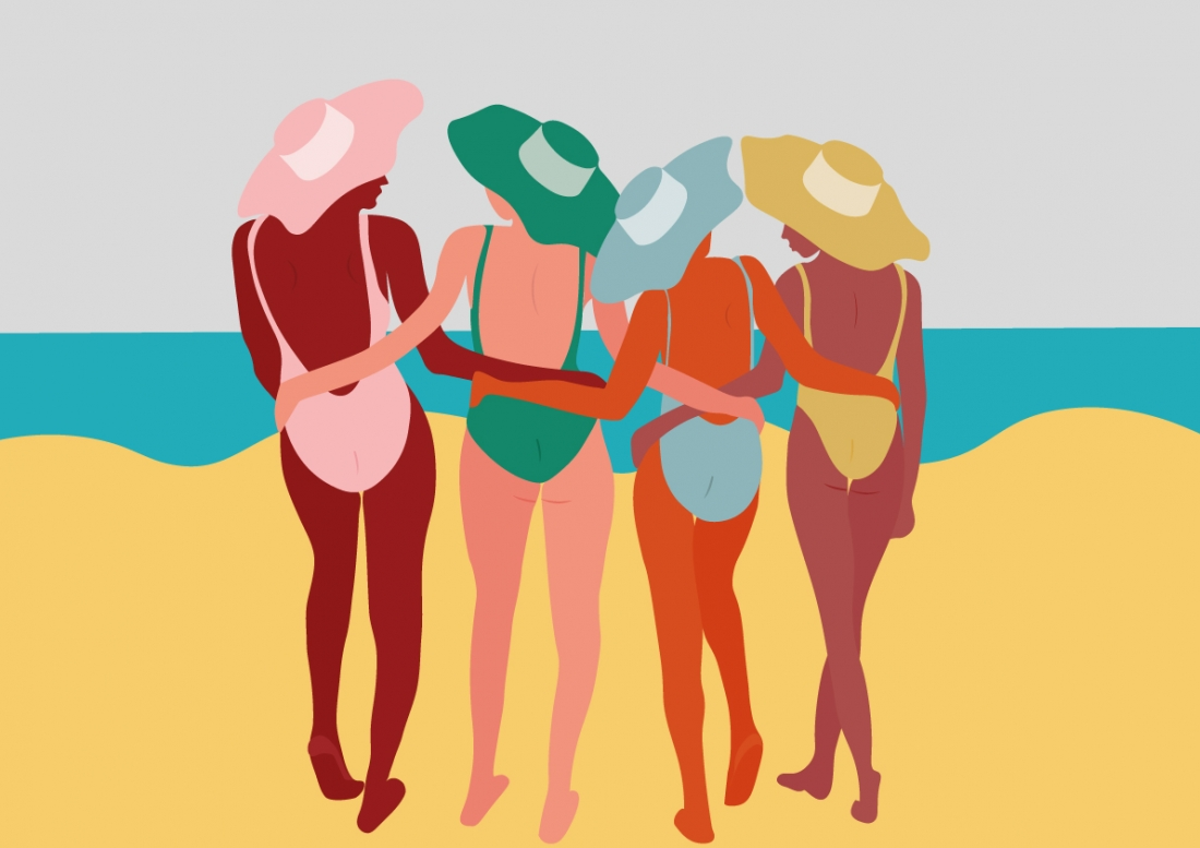 Camila Pinheiro's Brazilian influenced artworks that pop with tropical colour and clean lines