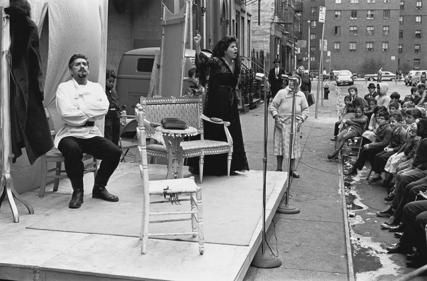 Theater in the Street performance, September 21, 1963