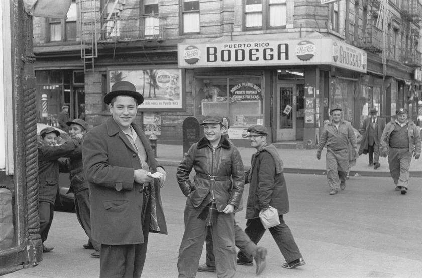 Boys on East Houston Street, 1960