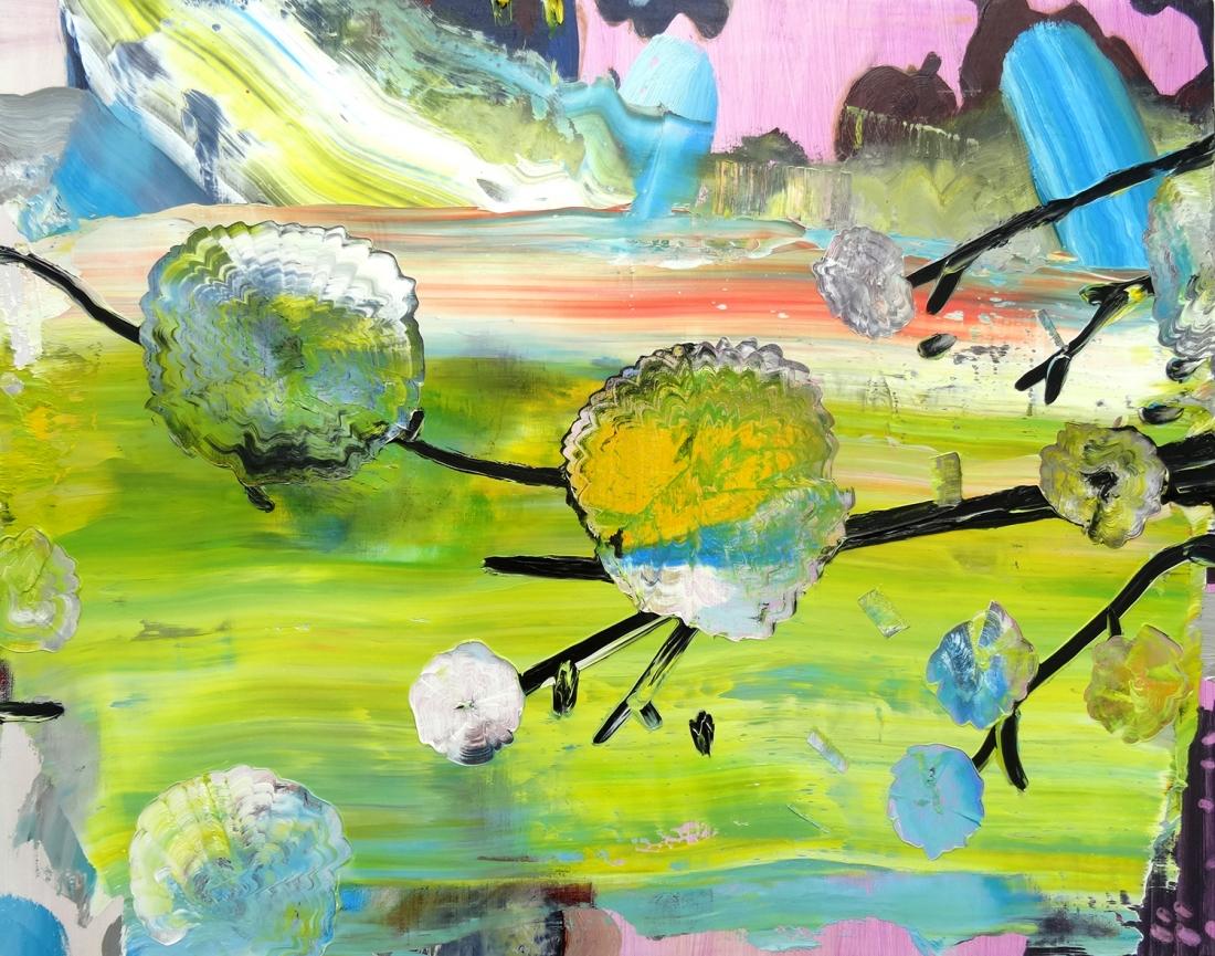 Toxicity – Oil on Canvas, 2016 – Jane Rainey