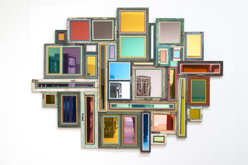 Song Dong: Usefulness of Uselessness – Varied Window No. 123019 © Song Dong, Courtesy of Pace Gallery
