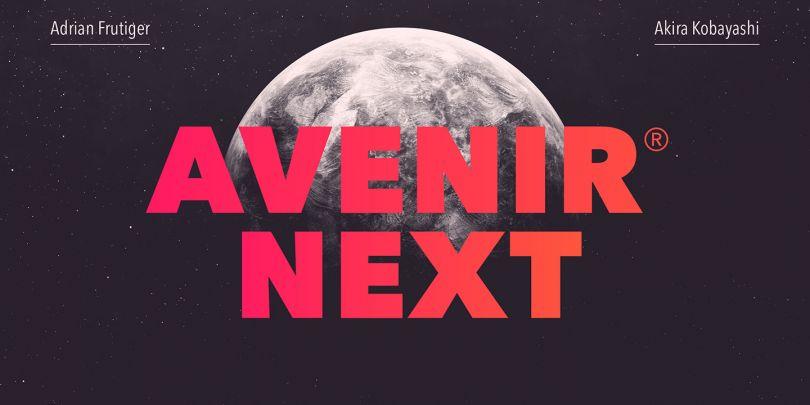 Avenir Next by Linotype