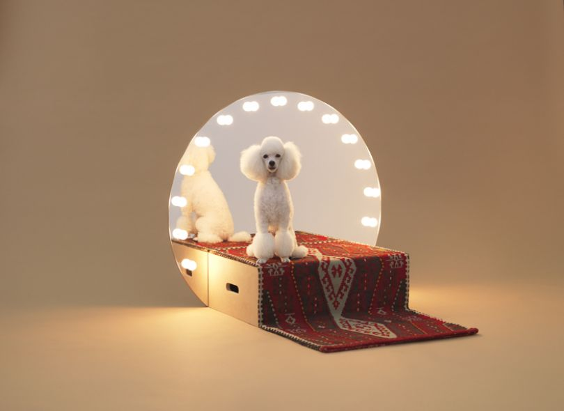 Paramount by Konstantin Grcic for Toy Poodle. Photo: Hiroshi Yoda.