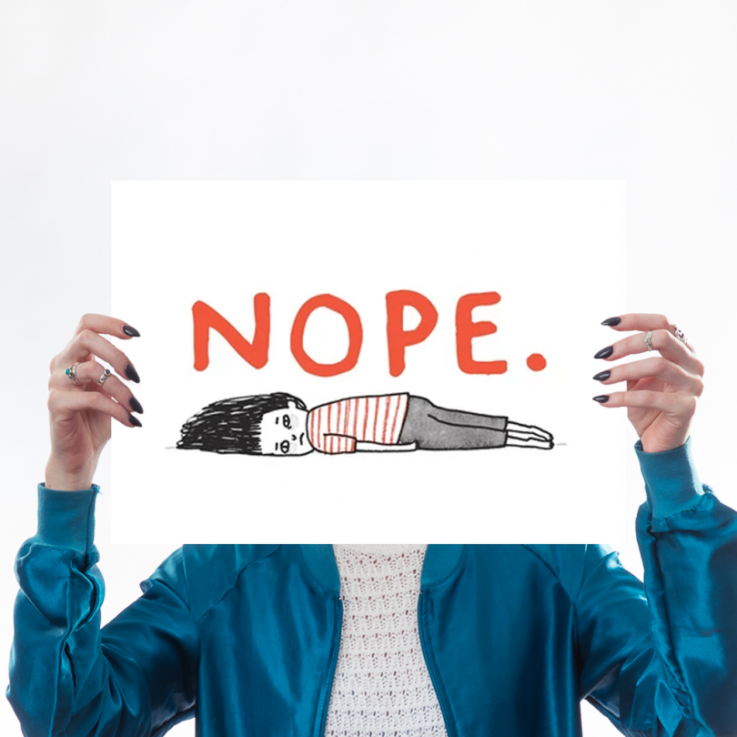 Nope by Gemma Correll