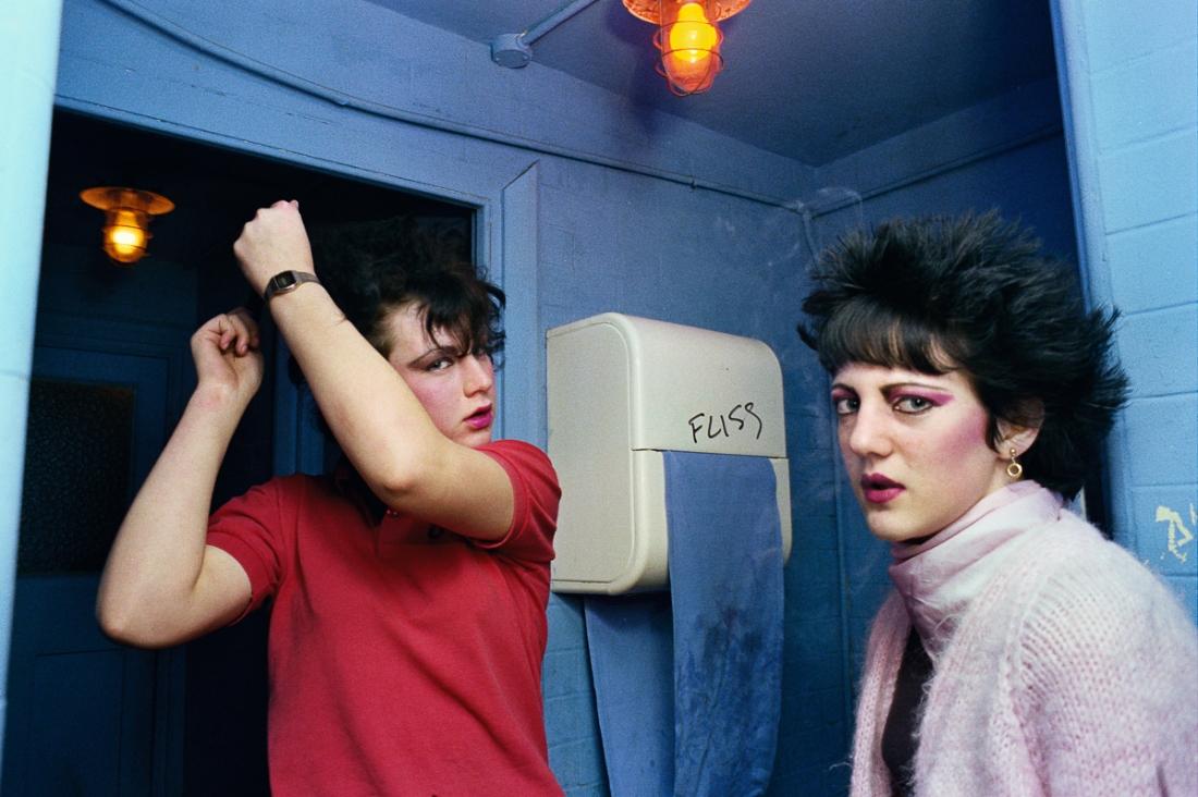 Shelley and Di, The White Swan, Crystal Palace Nov 1980 ©AnitaCorbin