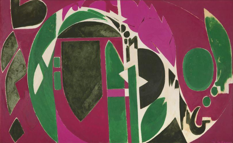 Palingenesis (1971), Collection Pollock-Krasner Foundation. © The Pollock-Krasner Foundation, courtesy Kasmin Gallery, New York.