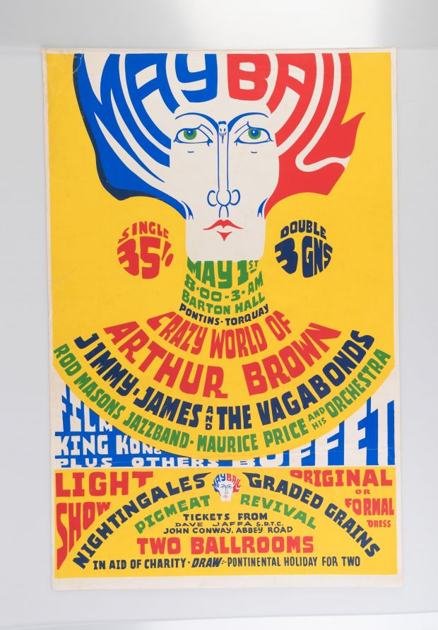 May Ball (1968). Private Collection: not for sale. All images showing at Bamalama Gallery from 21st October. Via Creative Boom submission.
