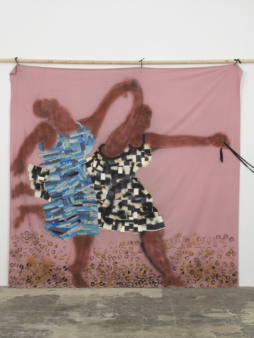 Lubaina Himid, Freedom and Change, 1984. Courtesy the artist & Hollybush Gardens, photo Andy Keate