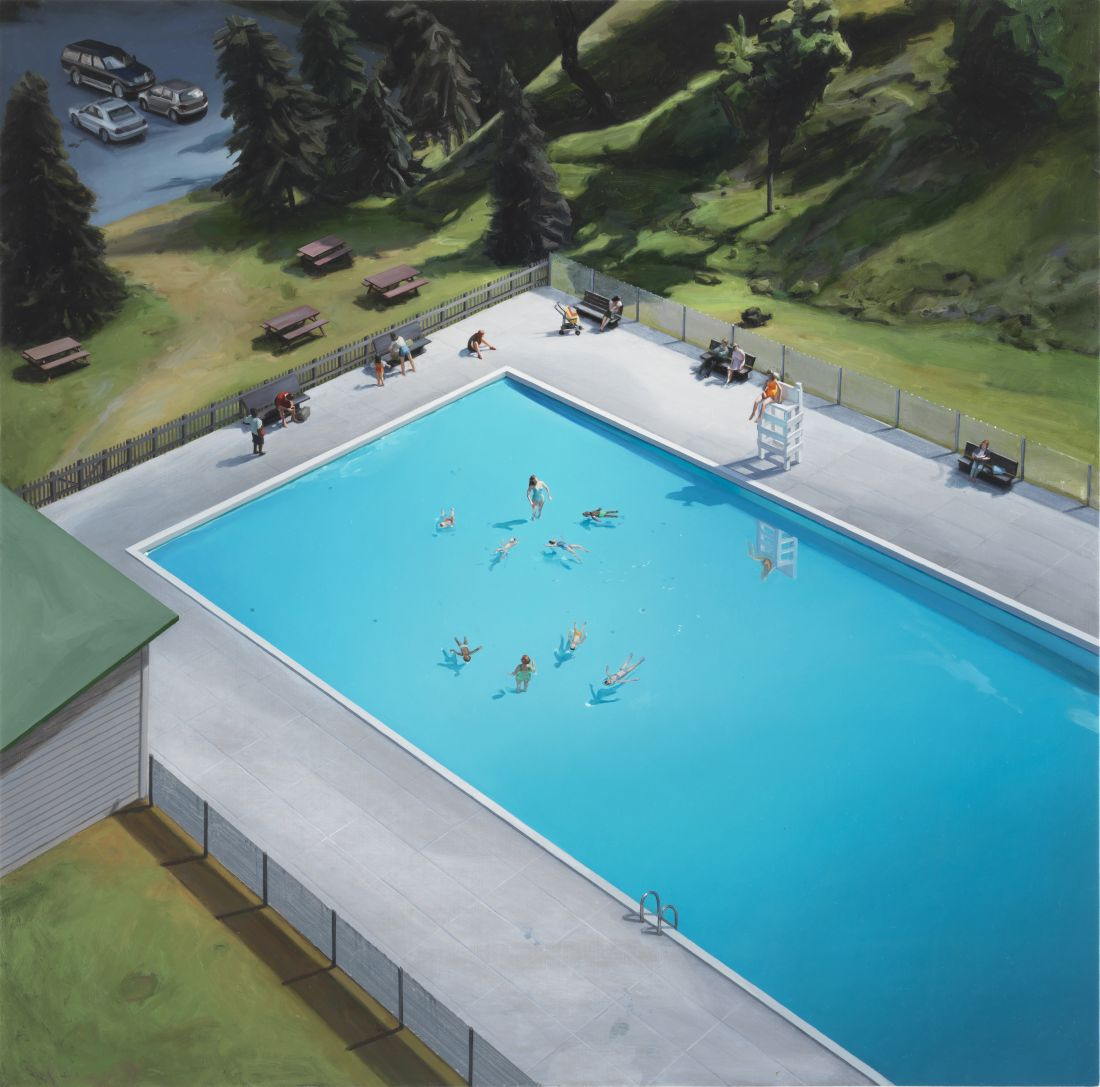Amy Bennett's Paintings Of Small Town America Based On