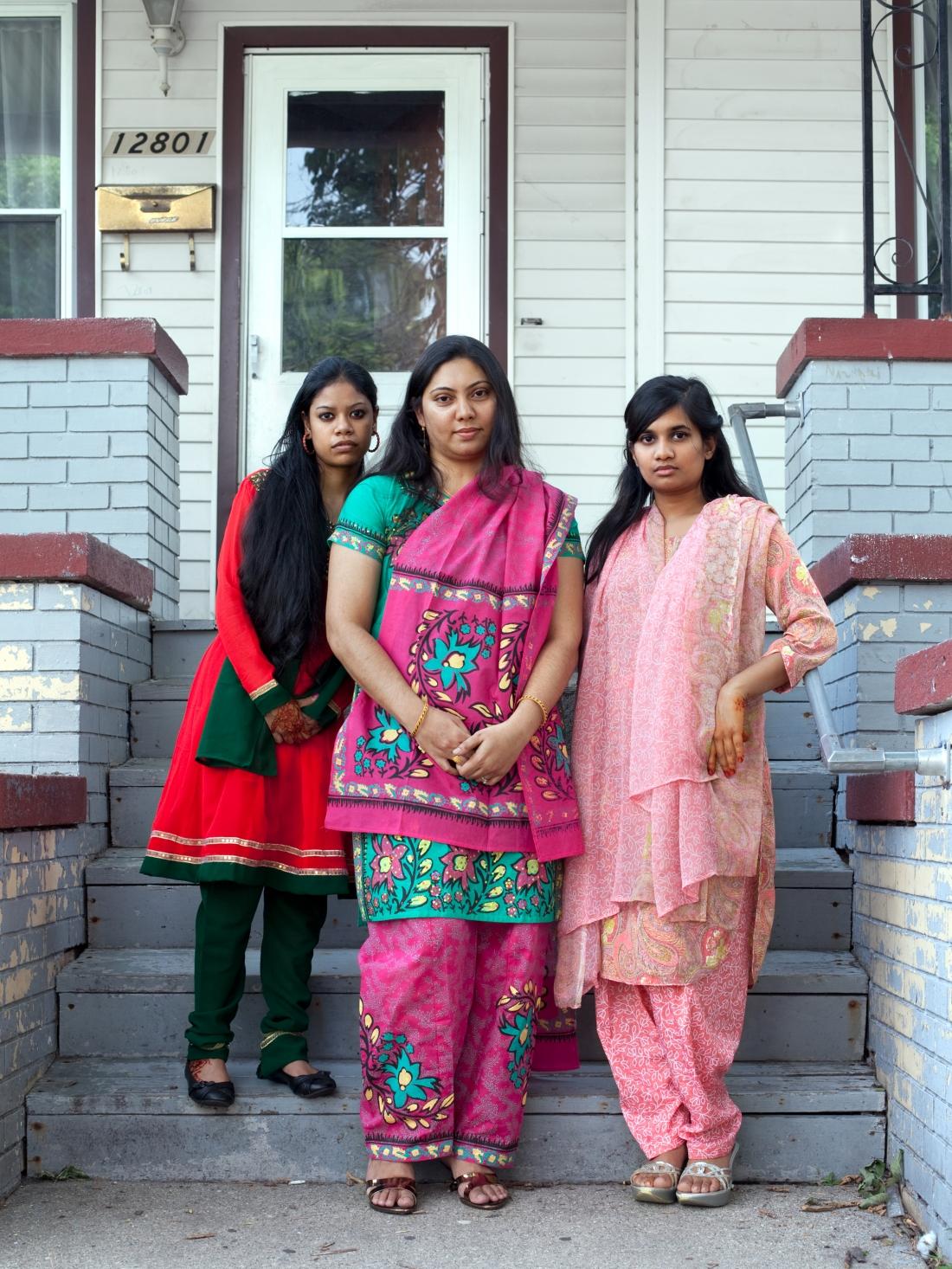Munni, Aftar and Shahina, 2011. Courtesy of Corine Vermeulen