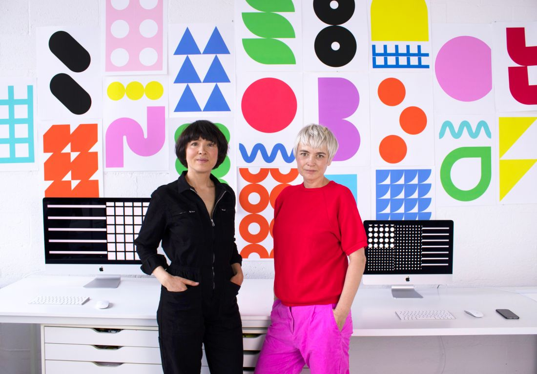 Nicole and Petra Kapitza on the beauty of colour, big breaks and running a creative studio as sisters