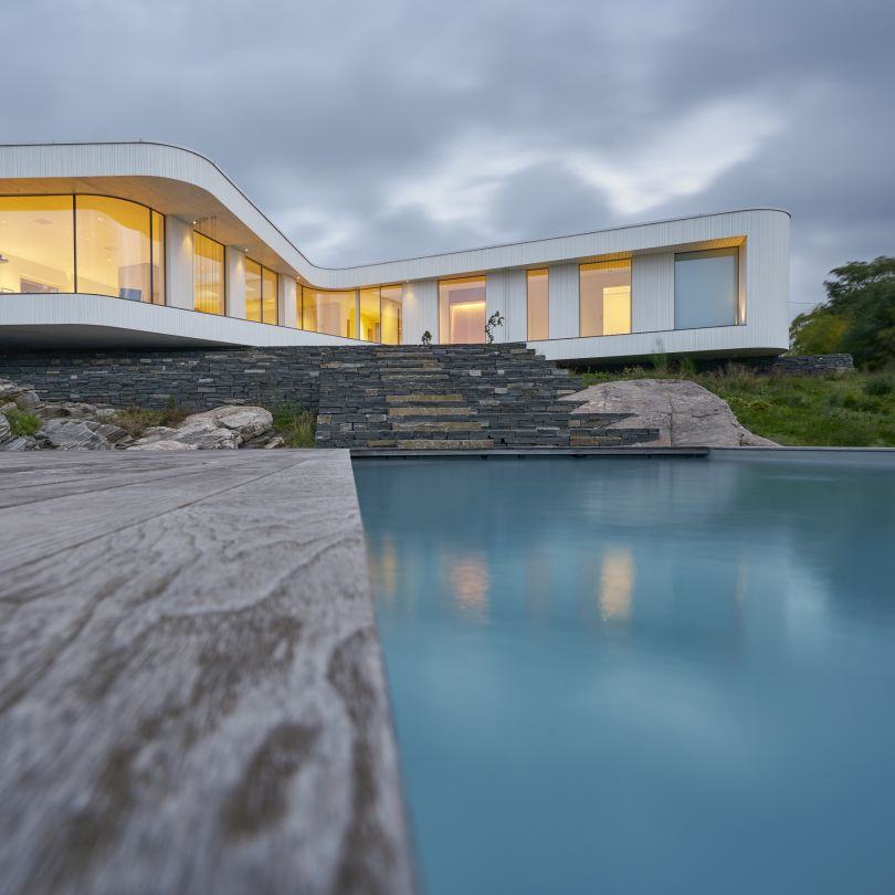 Villa At House by Todd Saunders. Winner in the Architecture, Building and Structure Design Category, 2018-2019.