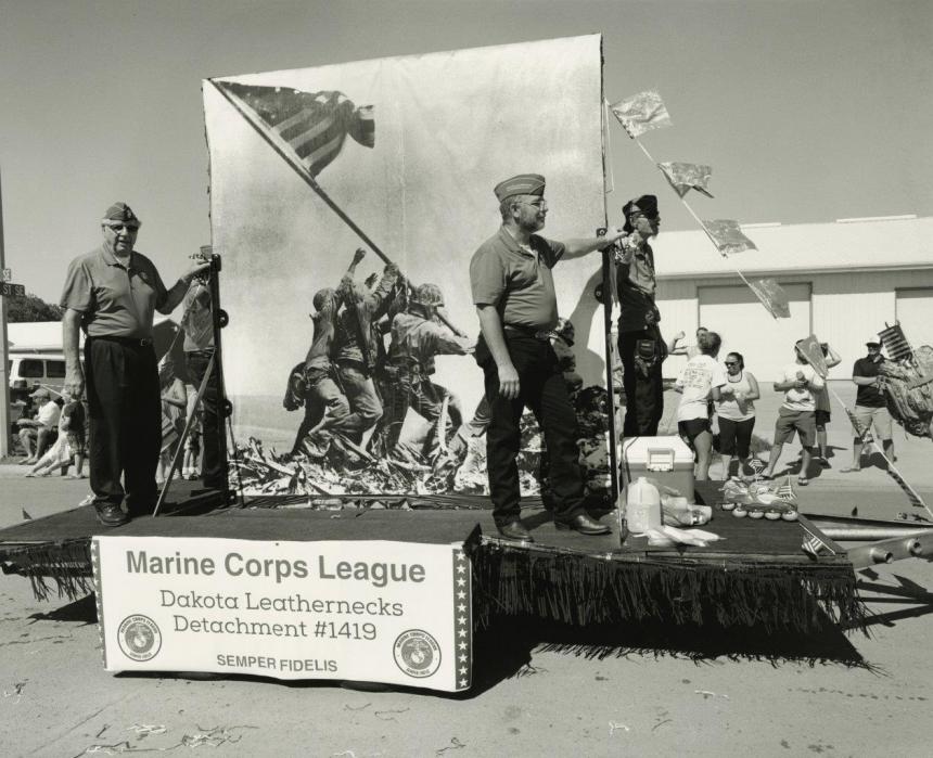 Marines, Mandan, North Dakota, July 4, 2016 | Images copyright Tom Arndt, courtesy Howard Greenberg Gallery
