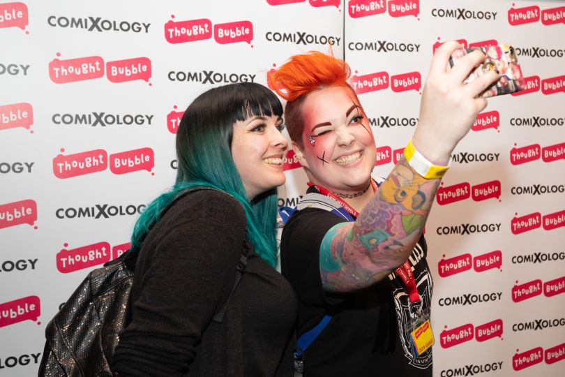 Photography by Andrew Benge, courtesy of Thought Bubble
