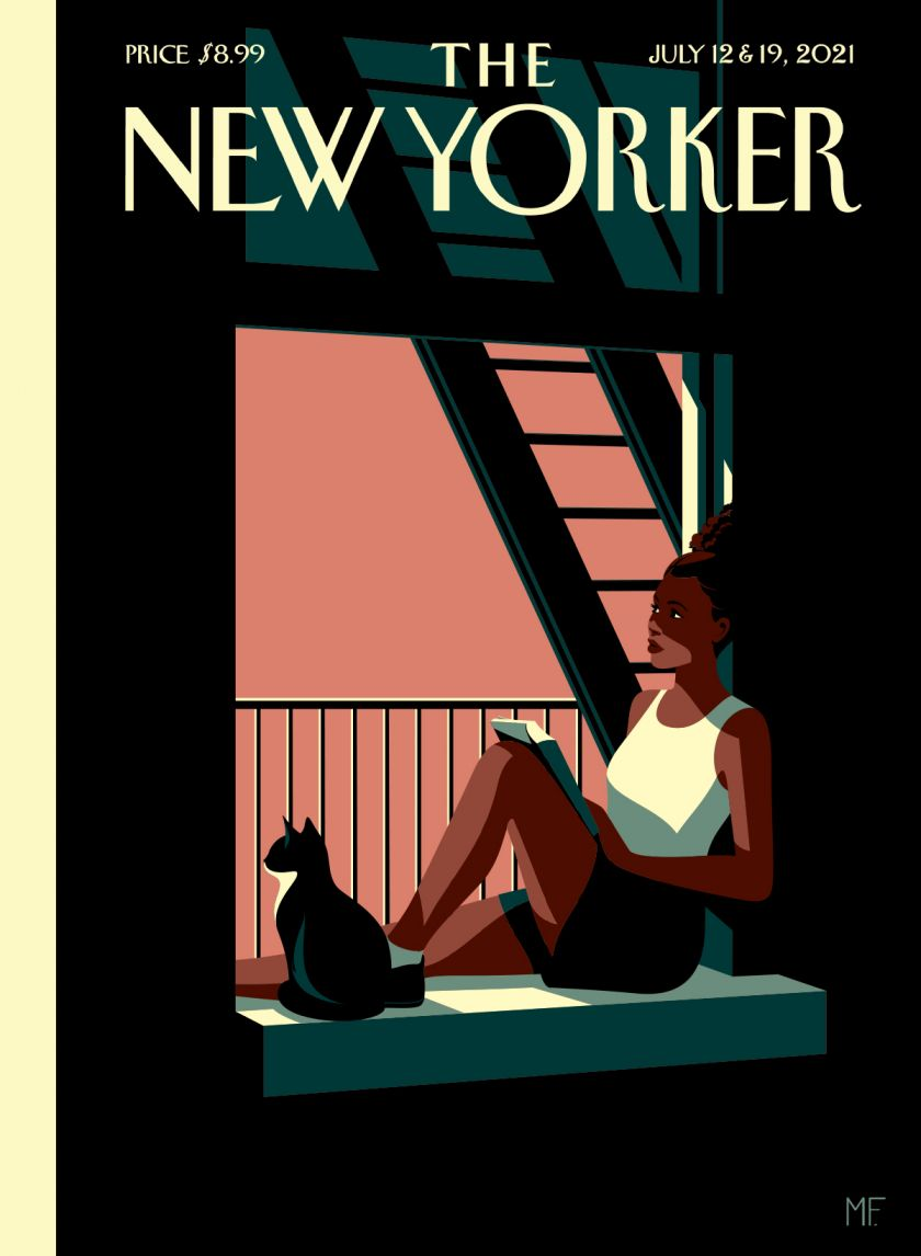 Escape, cover for The New Yorker © Malika Favre, courtesy of the artist and Handsome Frank