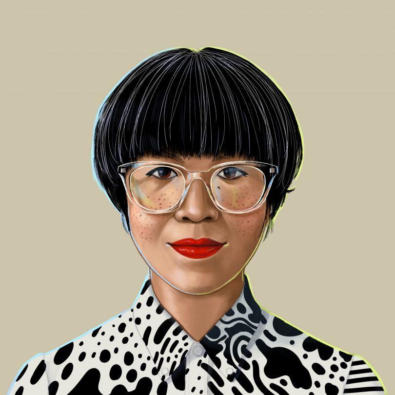Portrait of creative director Kate Elazegui © Shyama Golden