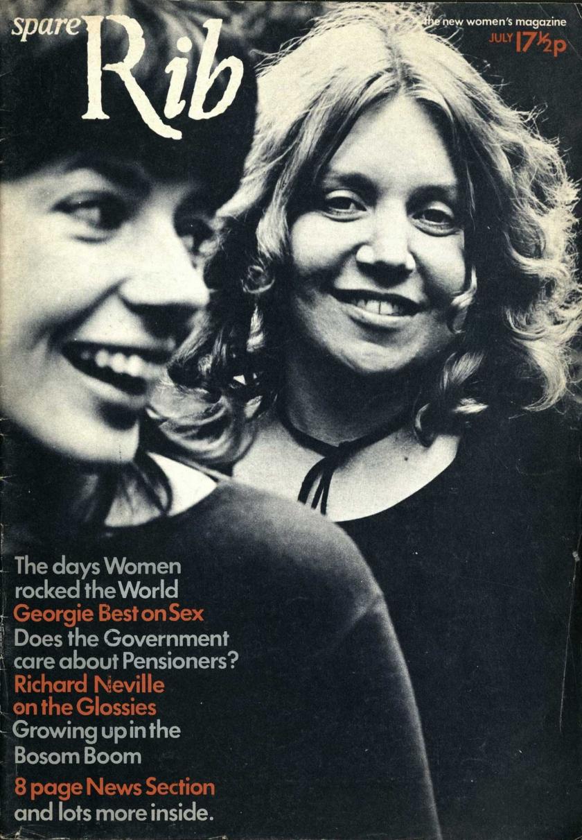 Spare Rib 1972 © Angela Phillips