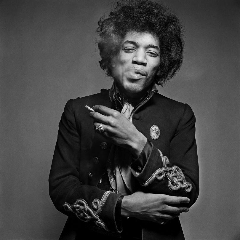 Gered Mankowitz, Jimi Hendrix, London 1967, Gelatin silver print, 50.8 x 61 cm, © Gered Mankowitz | Iconic Images