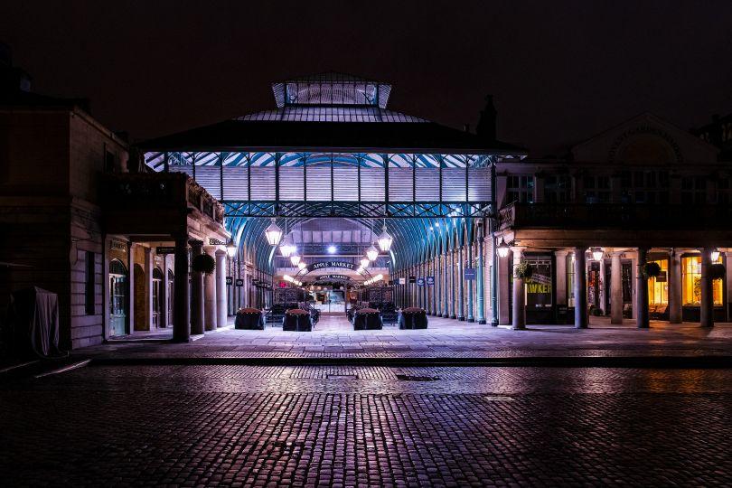 Covent Garden Market, 2 April 2020 © Jan Enkelmann