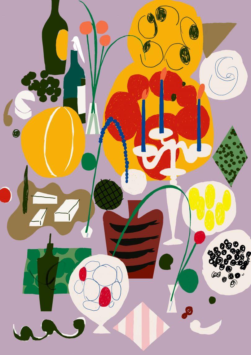 Syömingit by Antti Kalevi of Finland, an interpretation of 'Feast'
