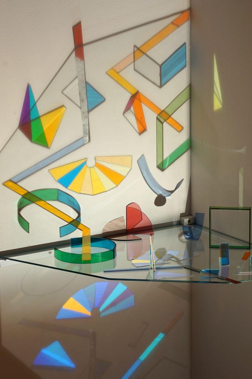 'Art of Glass' Alter by Helen Maurer, 2017. Photo credit Sebastian Sharples