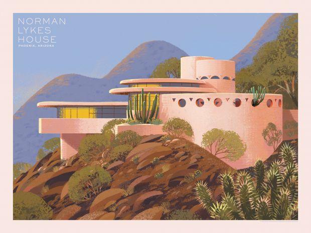 Norman Lykes House © Kim Smith
