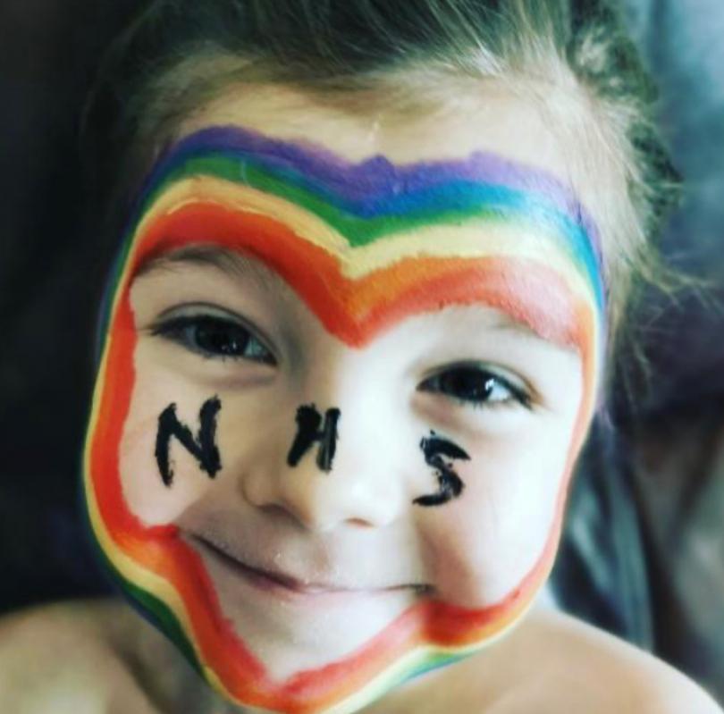 Five year old Eadee © West Midlands Ambulance Service