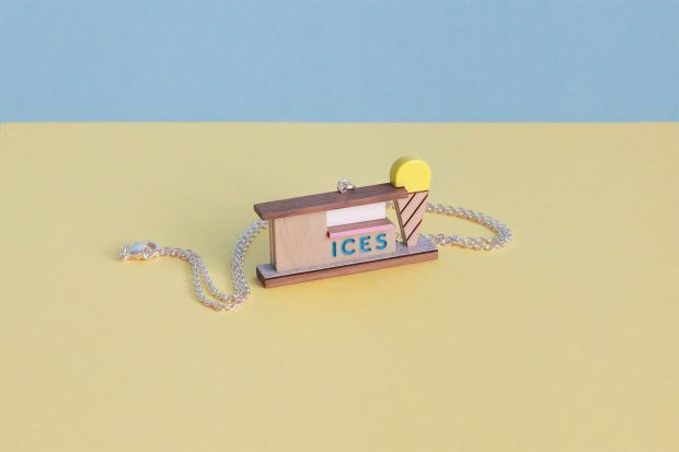 Ices necklace by Tiny Scenic. Image courtesy of the brand.