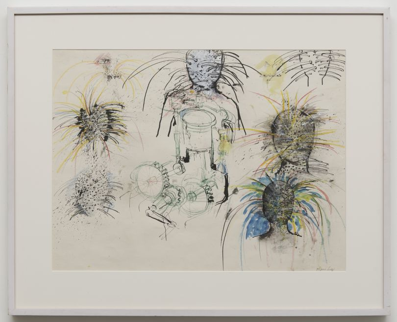 Studies (Jet Spray) (Study for Woman Monument) by June Leaf (1975)