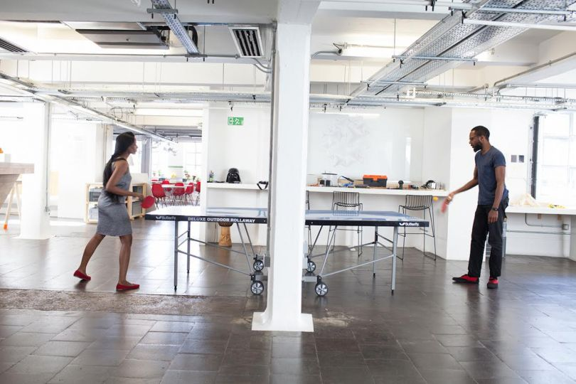 Method's studio in London