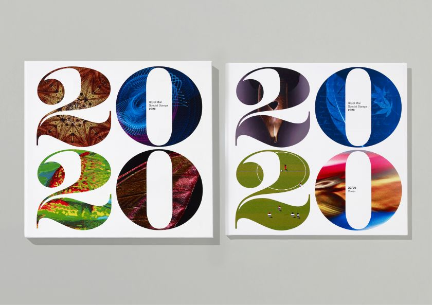 Hat-Trick's designs for the Royal Mail Yearbook look to 20/20 vision for inspiration