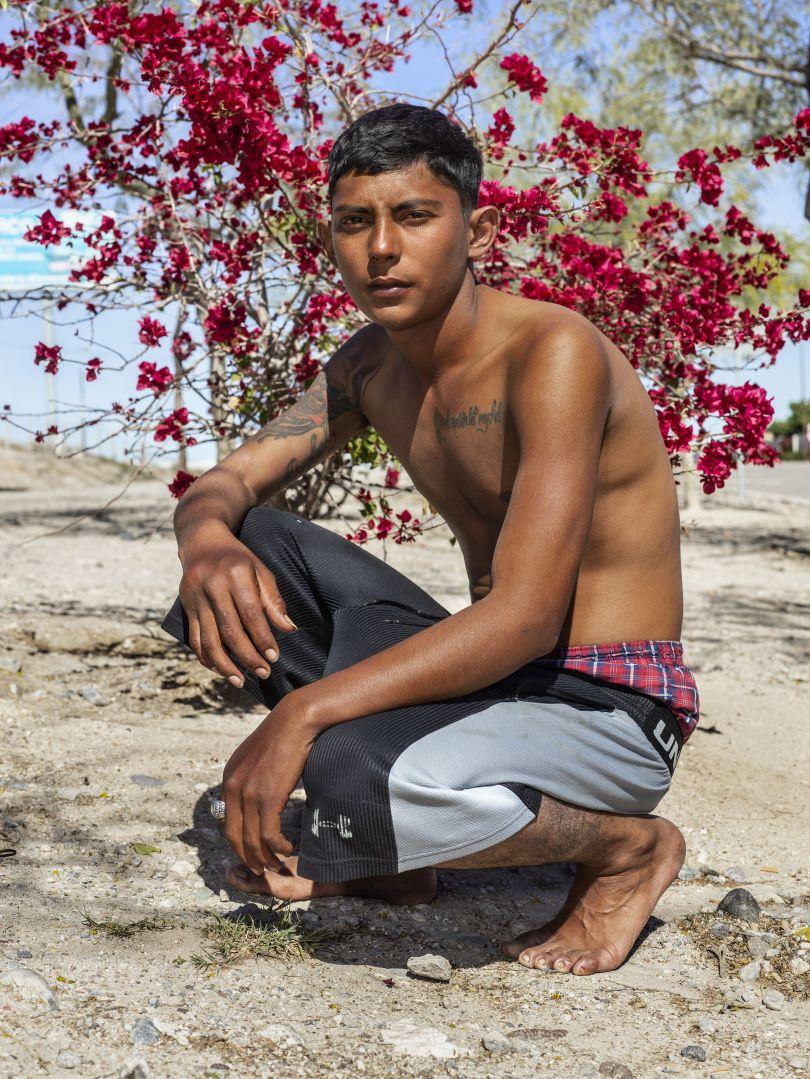 The Asylum Seeker, Hermosillo, 2019 © Pieter Hugo courtesy Huxley Parlour Gallery