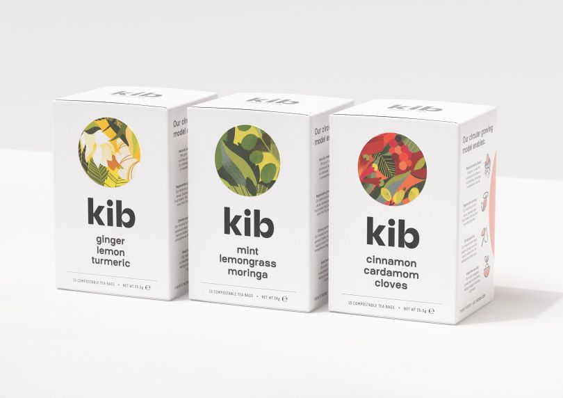 &SMITH's designs for East African herbal tea range Kib are inspired by circularity