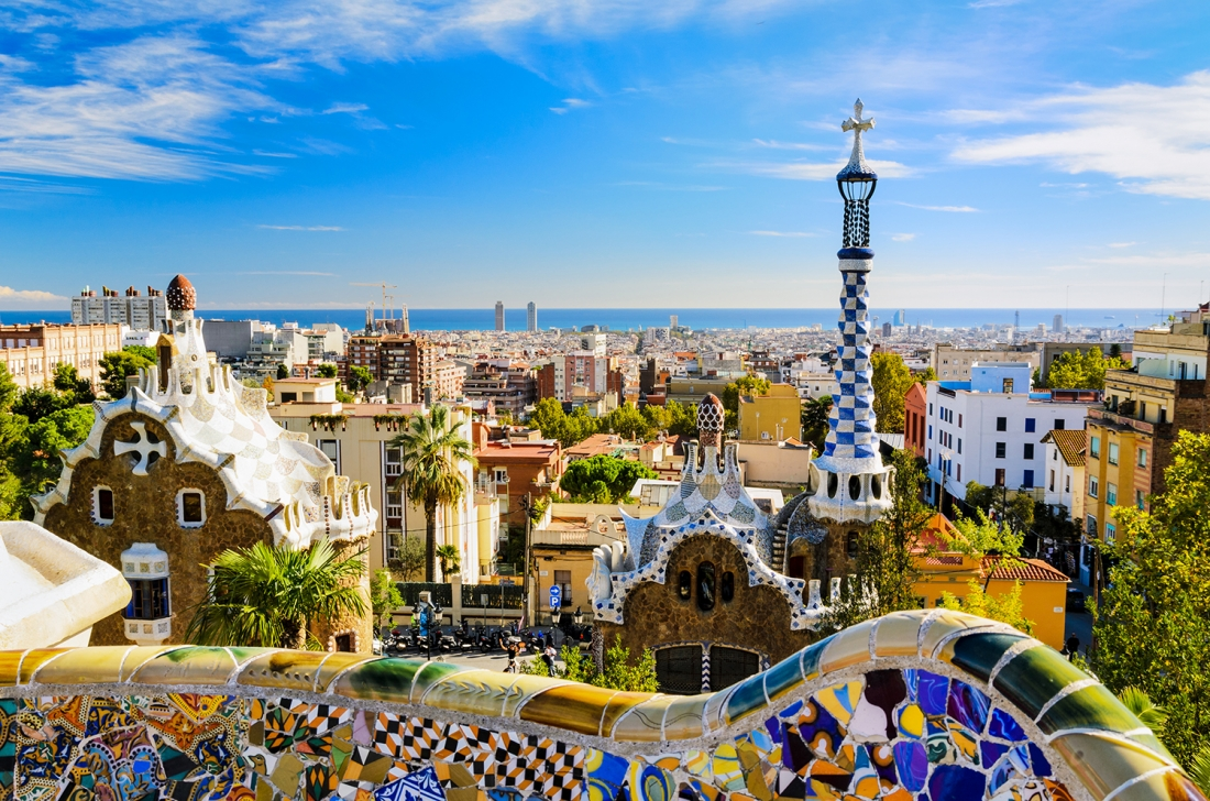 Park Güell, Barcelona | Image courtesy of [Adobe Stock](https://stock.adobe.com/uk/?as_channel=email&as_campclass=brand&as_campaign=creativeboom-UK&as_source=adobe&as_camptype=acquisition&as_content=stock-FMF-banner)