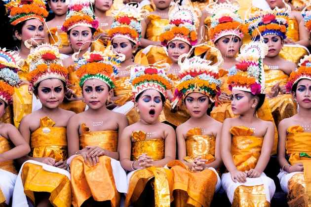 Too Much Practice - Khairel Anuar Che Ani: Bali during Melasti Festival. (Open Split-Second)