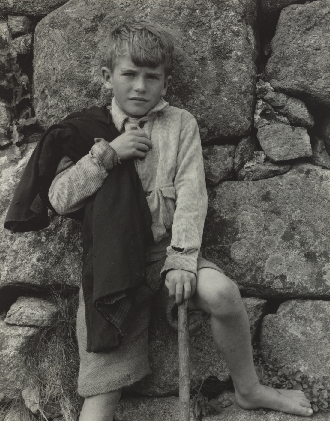 Paul Strand, John Angus MacDonald, South Uist, Hebrides, 1954 Gelatine silver print, 11.4 x 14.6 cm © Paul Strand Archive