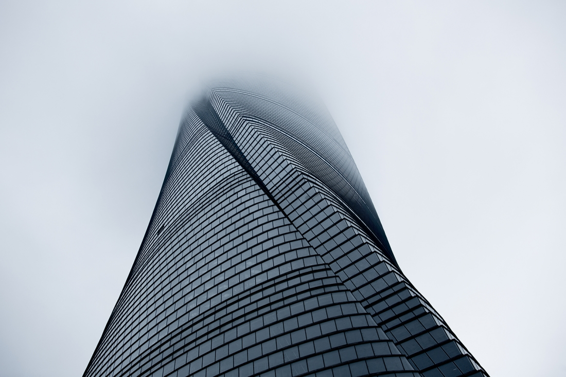 Photographer: Nick Almasy Shanghai Tower, Shanghai, China  Architect: Gensler/Marshall Strabala