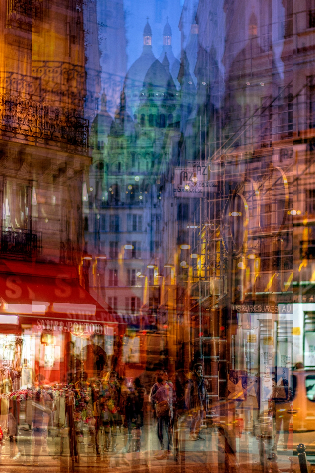 Urban Melodies: Photographer layers multiple images to create stunning city artworks